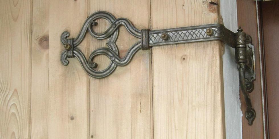 Rustikale Türbeschläge türen mehr atelier groß christian metallgestaltung schmied