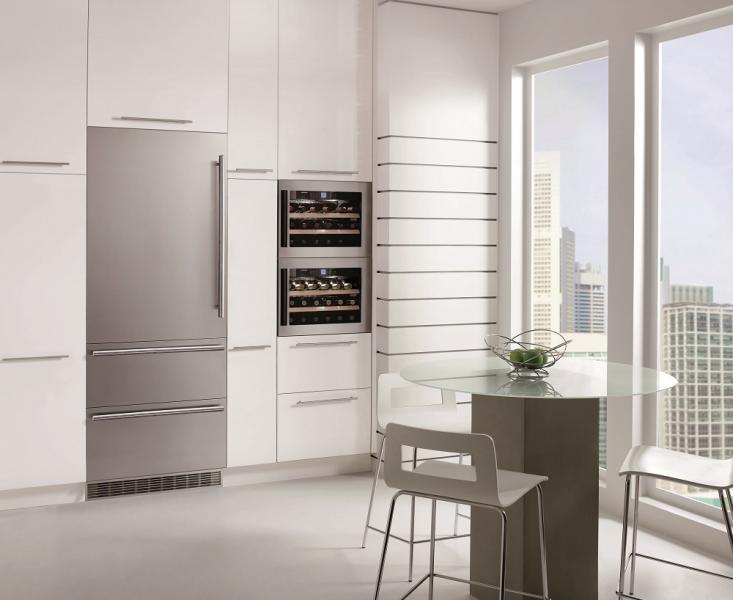 Side By Side Kühlschrank Integrierbar : Kühlschrank gefrierschrank offlineshop elektrotechnik roland