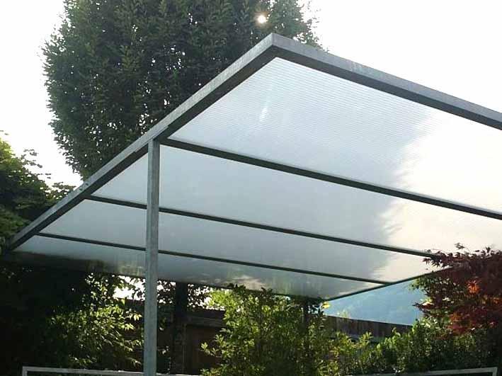 Gartenüberdachungen   Industrieverglasung