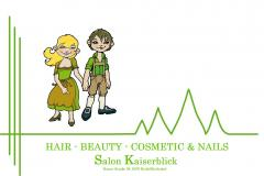 Salon Kaiserblick in  Reith bei Kitzbühel Tirol / Friseur Beauty Kosmetik Make Up Nageldesign Medzinische Fußpflege ... Ihr Spezialist im Bezirk Kitzbühel