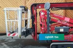 STEIGERVERLEIH Spinne 15 m - Lightlift 15,70 Performance IIIS