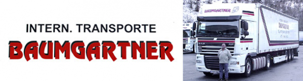 INTERNATIONALE TRANSPORTE BAUMGARTNER - Josef Baumgartner GmbH & CoKG - Internationale Transporte Tirol