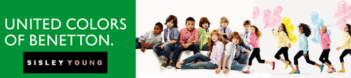 BENETTON KIDS Mode für Kinder, Sisley Young, Benetton Wörgl